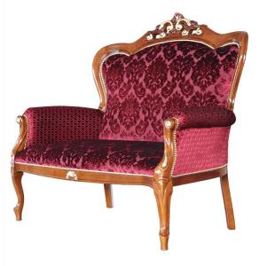 Sofa clásico decorado de oro Classic gold
