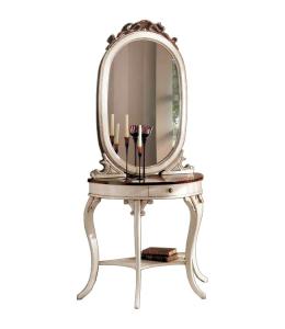 Mesa consola y espejo para entrada estilo clásico Vanity