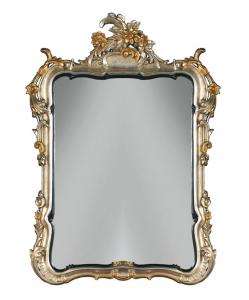 Espejo tallado de grandes dimensiones con cresta