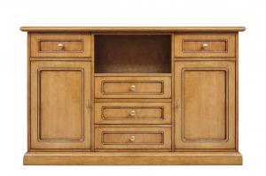 Mueble tv alto en madera para cocina