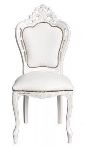 Silla de salón elegante Magic White