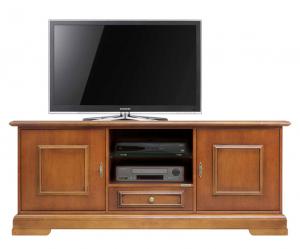 Mueble tv clásico funcional en madera de primera calidad