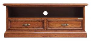 Mueble tv ancho vano soundbar en madera