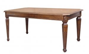 Mesa rectangular en madera estilo clásico con marquetería Master 230 / 260 x 110 cm
