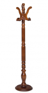 Perchero de pie en madera para el recibidor