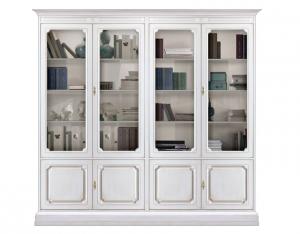 Mueble vitrina por pared de salón 8 puertas