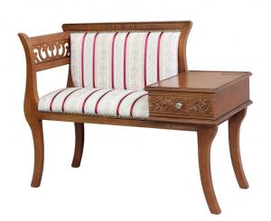 Sofa telefonera mueble de recibidor