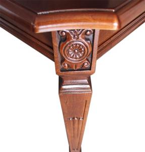 Mesa con marquetería de artesanado italiano Lux 180-260 cm
