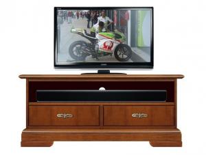 Mueble tv vano barra de sonido en madera