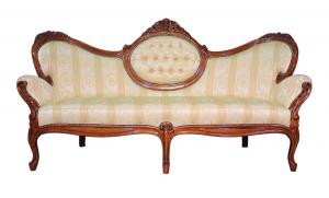 Sofa de madera 3 plazas