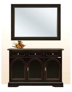 Aparador 3 puertas con espejo combinado