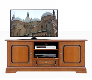 Mueble tv estilo clásico artesanado italiano