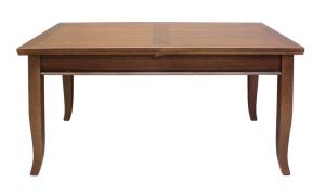 Mesa rectangular extensible en madera cm 160 x 90