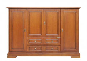 Aparador grande en madera estilo clásico