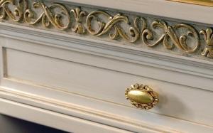 Exclusive aparador tallado classic gold