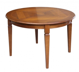 Mesa redonda tallada cm 120