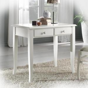 Mesa de despacho pequeña en madera resistente