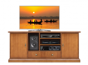 Mueble tv estilo clásico Home Cinema