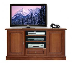 Mueble tv en estilo clásico anchura 130 cm