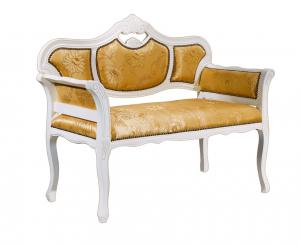 Sofa estilo clásico de haya
