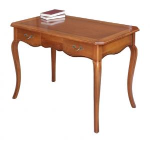 Mesa de despacho en madera maciza de cerezo