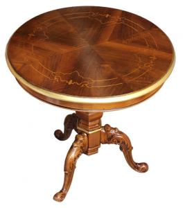 Mesa de café redonda diámetro 60 cm