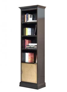 Librería alta de madera Riace