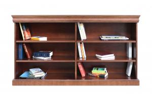 Librería estantería de salón estilo Luis Felipe