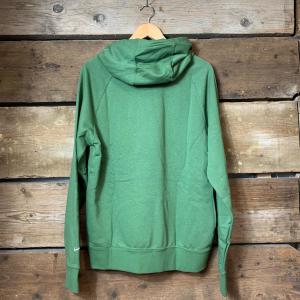 Felpa Nike Sportswear con Big Logo Anteriore Verde Militare