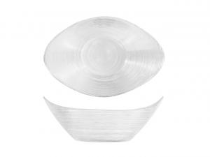 Coppa in vetro da nack cm.25x18x10h