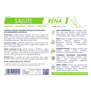 Vet Line Salute Rena1 Kg