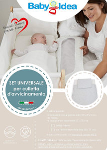 Babysanity SET UNIVERSALE per culla d'avvicinamento fantasia stelline  related image