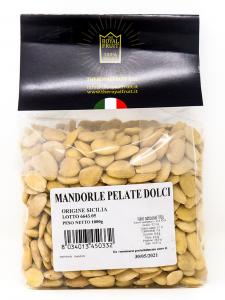Mandorle pelate dolci Sicilia 500 gr