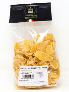 Zenzero disidratato (Ginger) con zucchero a velo conf 250 gr