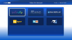 ADB i-CAN 3900S set-top box TV Cavo, Ethernet (RJ-45), Satellite Full HD Nero