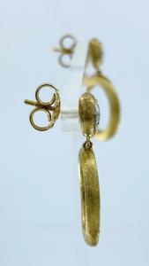 ORECCHINI JAIPUR DIAMONDS MARCO BICEGO IN ORO GIALLO 18KT CON DIAMANTI