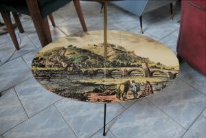 Tavolino portaoggetti vintage