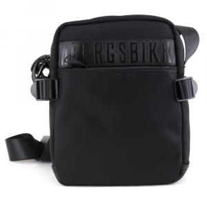 Shoulder bag Bikkembergs TAPE TAPE-12 D38 BLACK