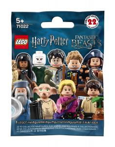 LEGO Minifigures 71022, Harry Potter e gli Animali Fantastici, 5 bustine casuali