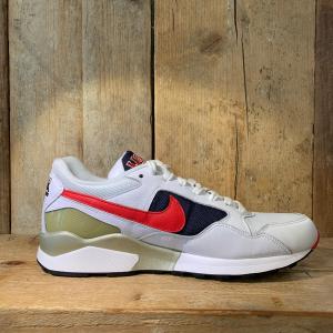 Scarpa Nike Air Pegasus '92 Premium Bianca Rossa e Blu