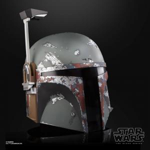 Star Wars Black Series Premium Electronic Helmet: Boba Fett by Hasbro