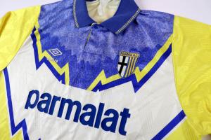 1991-92 Parma Maglia Away XL