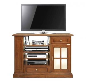 Mueble de tv cajón puerta y vano central