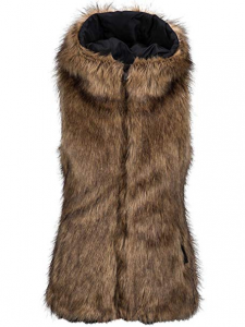 Giacca Volcom W Rhea Faux Fur Vest