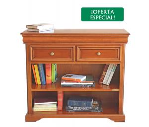 Librería baja Luis Felipe con 2 cajones