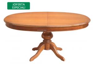 Mesa extensible ovalada 160-250 cm - OFERTA
