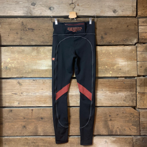 Leggins Puma in Dry Cell con Tasca Posteriore Nero e Bordeaux