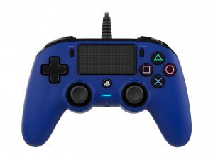 NACON PS4OFCPADBLUE periferica di gioco Blu Gamepad PlayStation 4