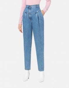 Pantalone in denim con pinces philosophy