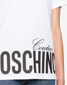 T-shirt in jersey Moschino Couture moschino